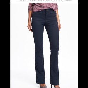 Old Navy women's navy blue khaki pants